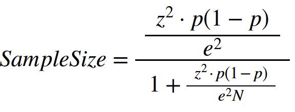 How to Calculate Sample Size | Calculator | Formula | Statistics